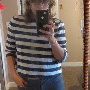 Ann Taylor crop shirt